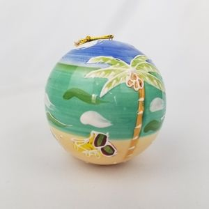 Hand painted Cayman Island Ornament